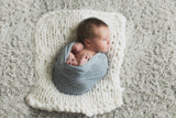 Handcraft Newborn Props for Baby Photography Session Knit Blanket Basket Mat Studio - Don&Judy Newborn&Maternity photography props