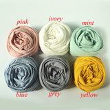 Newborn Super Soft Knit Wraps Newborn Cotton Wraps Newborn Props Photography 45x160cm - Don&Judy Newborn&Maternity photography props