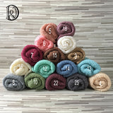 Soft Stretchy Knit Newborn Wraps Newborn Photo Outfits Newborn Photo Props Wraps 10pcs/lot - Don&Judy Newborn&Maternity photography props