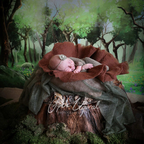 Handcraft Wool Felt Jam Real Pure Newborn Props Photography - Don&Judy Newborn&Maternity photography props