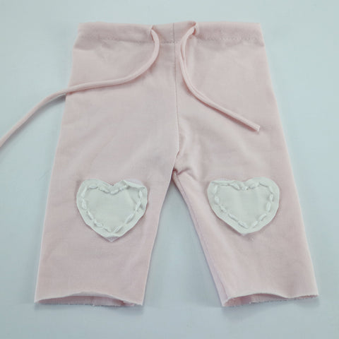 Clearance Handcraft Stretchy Cotton Newborn Baby Pants with Sweet Heart Pattern - Don&Judy Newborn&Maternity photography props
