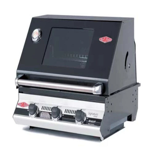 Beefeater Signatur S3000E Series - 3 Burner Bbq and window Hood with Cast Iron Cool Pack 19932