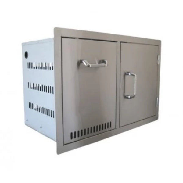 Beefeater Stainless Steel Build-in Propane Tank Drawer & Single Door Combination - 24240