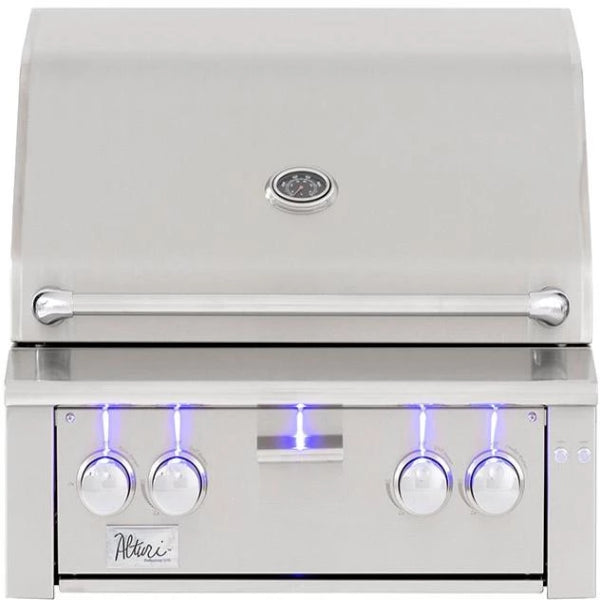 "Summerset Alturi Grill, 30"" NG - Built-in with Red Brass Main Burners-ALT30R-NG"