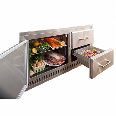 Alfresco Outdoor Refrigerator For Under Grill ARXE-42