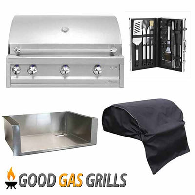 "Artisan 36"" Built-in Professional Series Propane Gas Grill ARTP-36-LP"