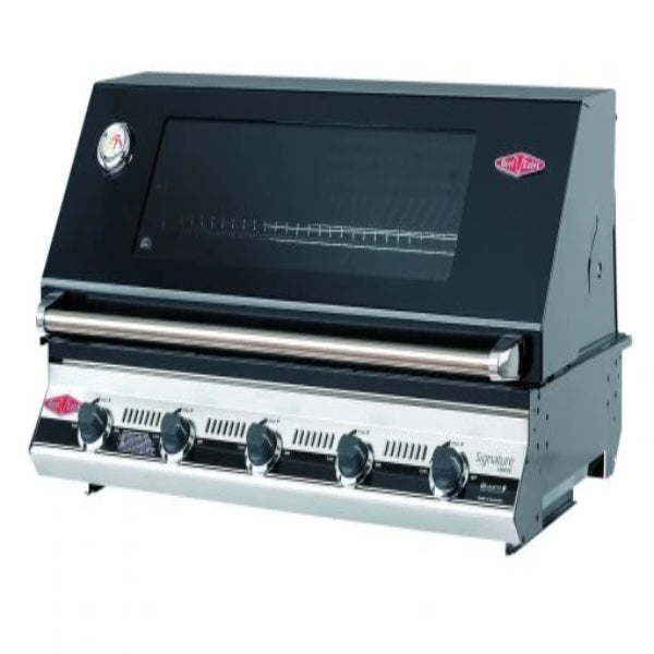 Beefeater Signatur S3000E Series - 5 Burner Bbq and window Hood with Cast Iron Cook Pack 19952