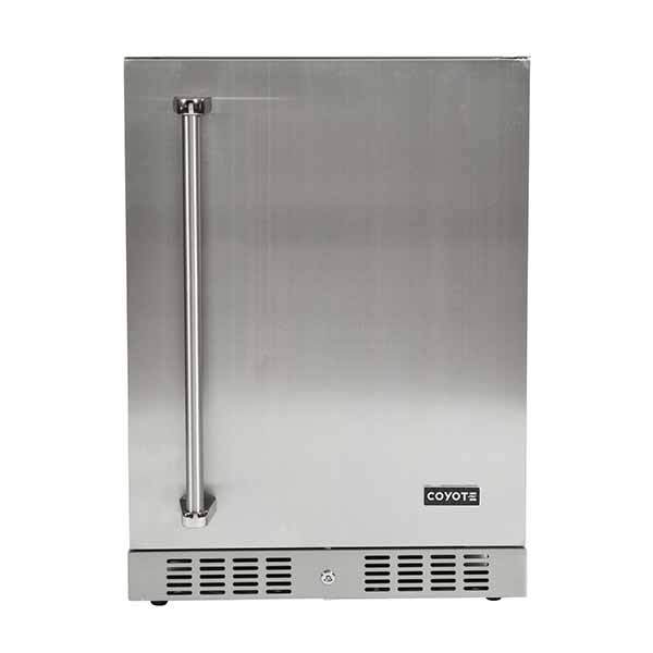 "Outdoor Refrigerator Coyote 24"" with Right Hinge C1BIR24R"