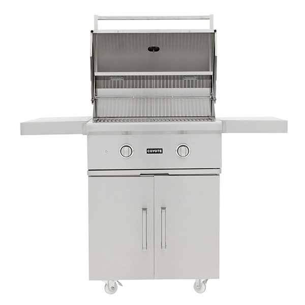 "Outdoor Grill Coyote C-Series 28"" Freestanding 2 Burner on Liquid Propane C1C28LPFS"