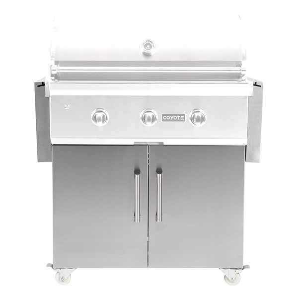 "Grill Cart Coyote Suited For 34"" Gas Grills C1C34CT"