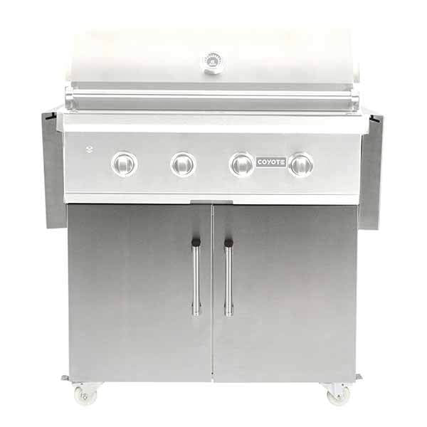 "Grill Cart Coyote Suitable For 36"" Gas Grills C1S36CT"