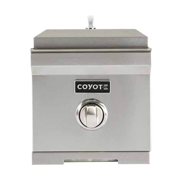 Single Burner Coyote Stainless Steel Built-in on Natural Gas C1SBNG