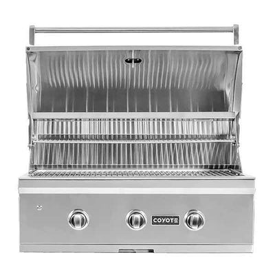 "Outdoor Grill Coyote C-Series 34"" Built-in 3 Burner on Liquid Propane C2C34LP"