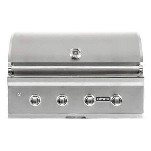 "Outdoor Grill Coyote C-Series 36"" Built-in 4 Burner on Natural Gas Grill C2C36NG"
