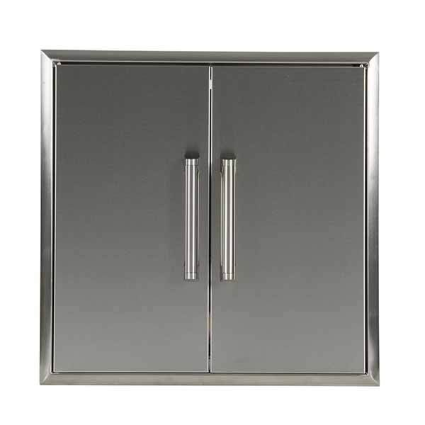 "Outdoor Kitchen Coyote 26"" Stainless Steel Double Access Door CDA2426"