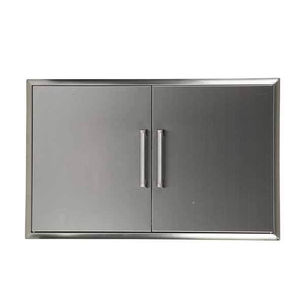 "Outdoor Kitchen Coyote 39"" Stainless Steel Double Access Door CDA2439"