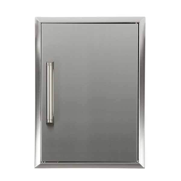 "Outdoor Kitchen Coyote 16"" Stainless Steel Single Vertical Access Door CSA2014"