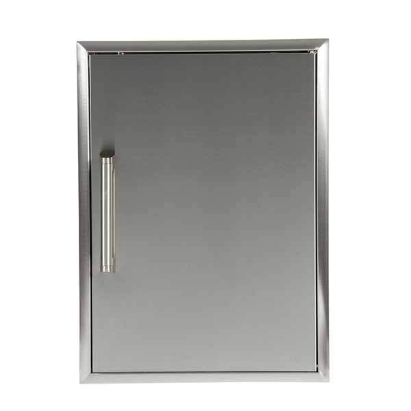 "Outdoor Kitchen Coyote 20"" Stainless Steel Single Vertical Access Door CSA2417"