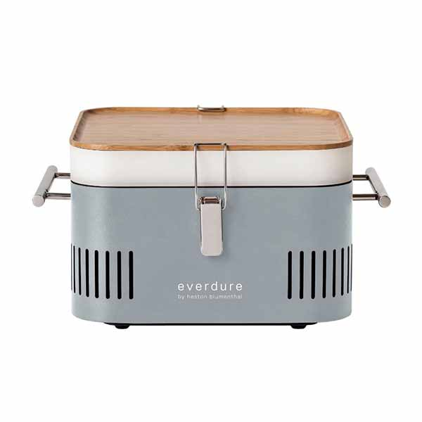 "Everdure 17"" Charcoal Grill Stone Portable Cube HBCUBESUS"