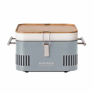 "Charcoal Grill Everdure 17"" Stone Portable Cube HBCUBESUS"