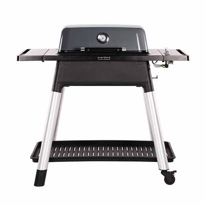"Everdure 48"" Propane Grill Graphite Force 2 Burner With Stand HBG2GUS"