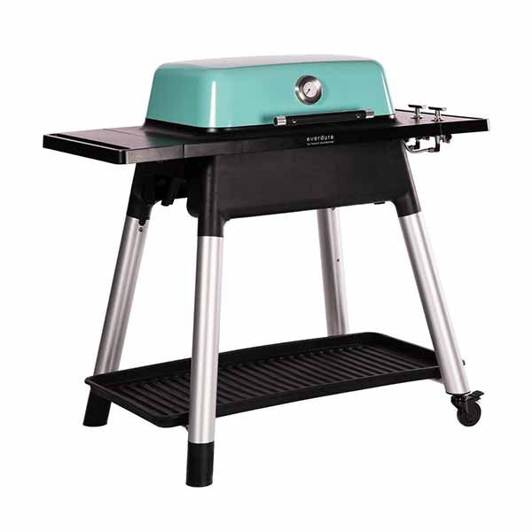 "Everdure 48"" Propane Grill Mint Force 2 Burner With Stand HBG2MUS"