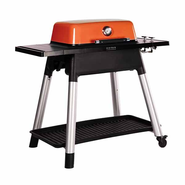 "Everdure 48"" Propane Grill Orange Force 2 Burner With Stand HBG2OUS"