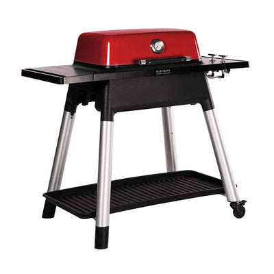 "Everdure 48"" Propane Grill Red Force 2-Burner With Stand HBG2RUS"