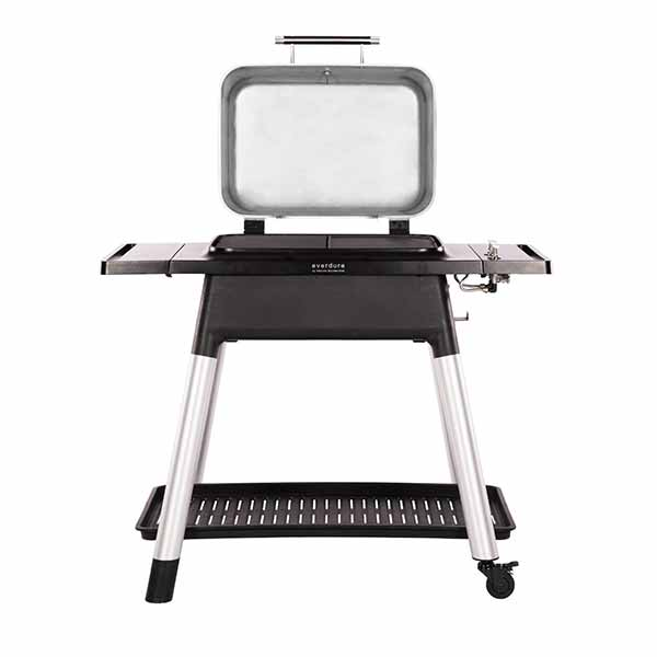 "Everdure 48"" Propane Grill Stone Force 2-Burner With Stand HBG2SUS"