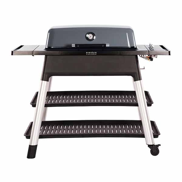"Everdure 52"" Propane Grill Graphite Furnace 3 Burner With Stand HBG3GUS"