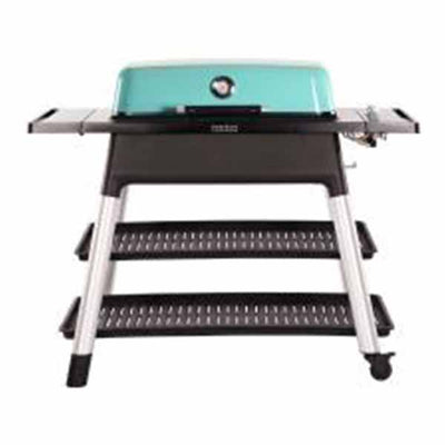 "Everdure 52"" Propane Grill Mint Furnace 3 Burner With Stand HBG3MUS"