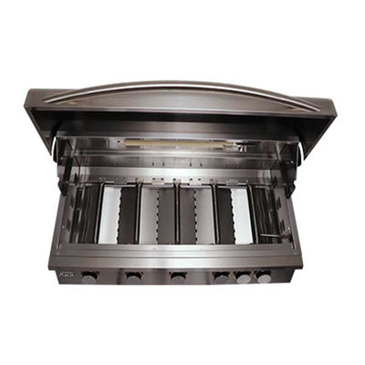 "RCS Premier Series 40"" 5 Burner Built-in Propane Gas Grill RJC40AL"