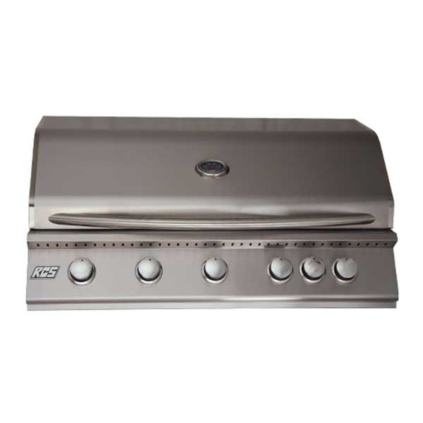 "RCS Premier Series 40"" 5 Burner Built-in Natural Gas Grill RJC40A"