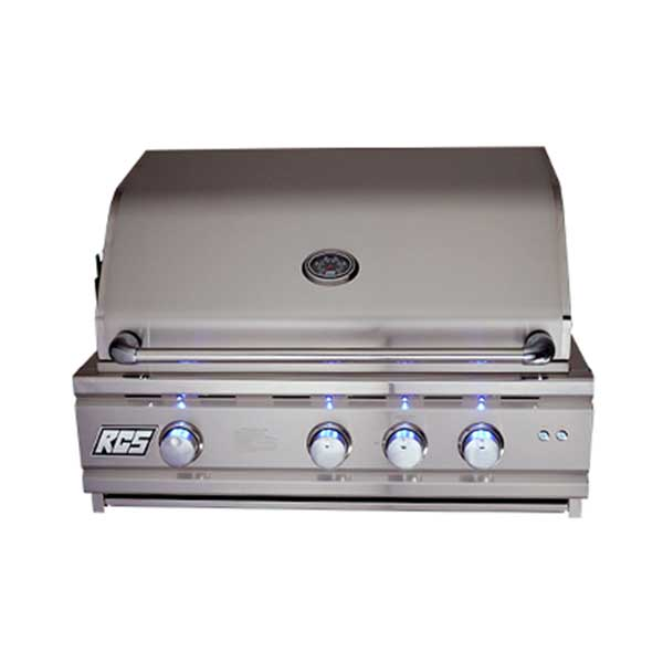 Rcs 30 Cutlass Pro Series Propane Grill Blue Led With Rear Burner Ron30A-Lp - Outdoor Grills