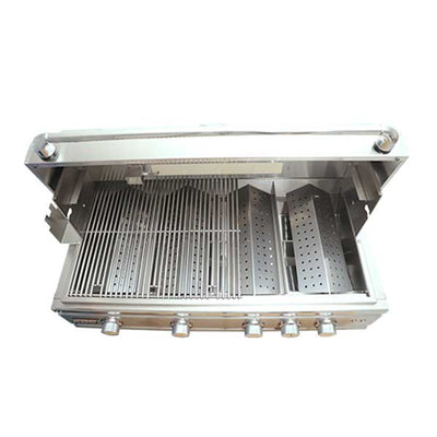 "RCS 38"" Cutlass Pro Series Built-in Natural Gas Grill with Blue LED and Rear Burner RON38A"