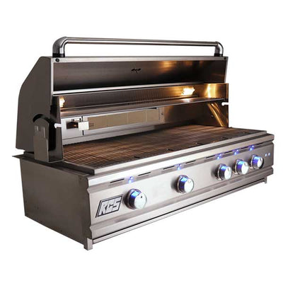 "RCS 42"" Cutlass Pro Series Built-in Natural Gas Grill with Blue LED and Rear Burner RON42A"