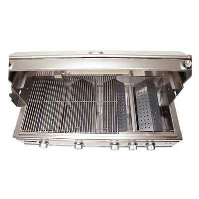 "RCS 42"" Cutlass Pro Series Built-in Propane Gas Grill with Blue LED and Rear Burner RON42A-LP"