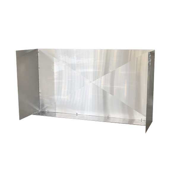 "RCS 48"" Stainless Steel Wind Guard RWGL"