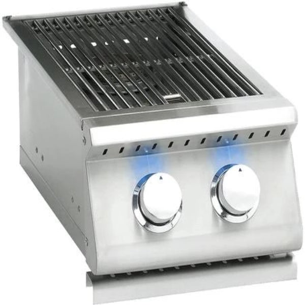 Summerset  Side Burner LP - Sizzler Professional Double with LED Illumination - Built-in- SIZPROSB2-LP