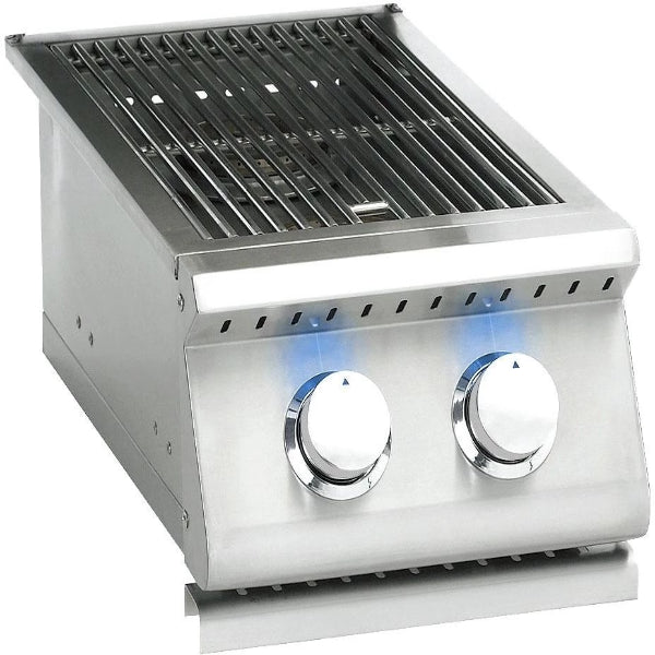 Summerset  Side Burner NG - Sizzler Professional Double with LED Illumination - Built-in- SIZPROSB2-NG