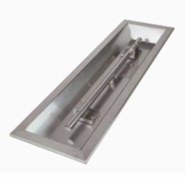 "Athena 72"" x 6"" Linear Drop-in Pan w/ T Burner DIP-LN-72"