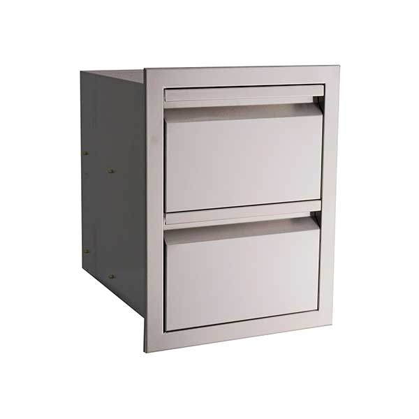 "RCS Valiant Series 17"" Stainless Steel Double Access Drawer VDR1"