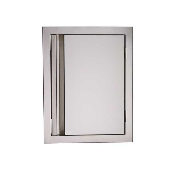 "RCS Valiant Series 17"" Stainless Steel Vertical Single Access Door VDV1"