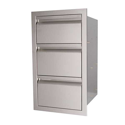 "RCS Valiant Series 17"" Stainless Steel Double Access Drawer & Paper Towel Dispenser VTHC1"