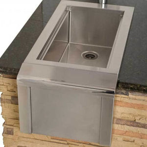 Alfresco 14 Outdoor Rated Versa Bartender & Sink System Agbc-14 - Grill Accessory