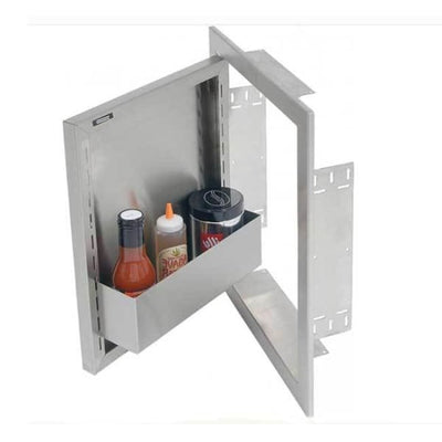 Alfresco 17 Left Hinged Vertical Single Access Door Axe-17L - Grill Accessory