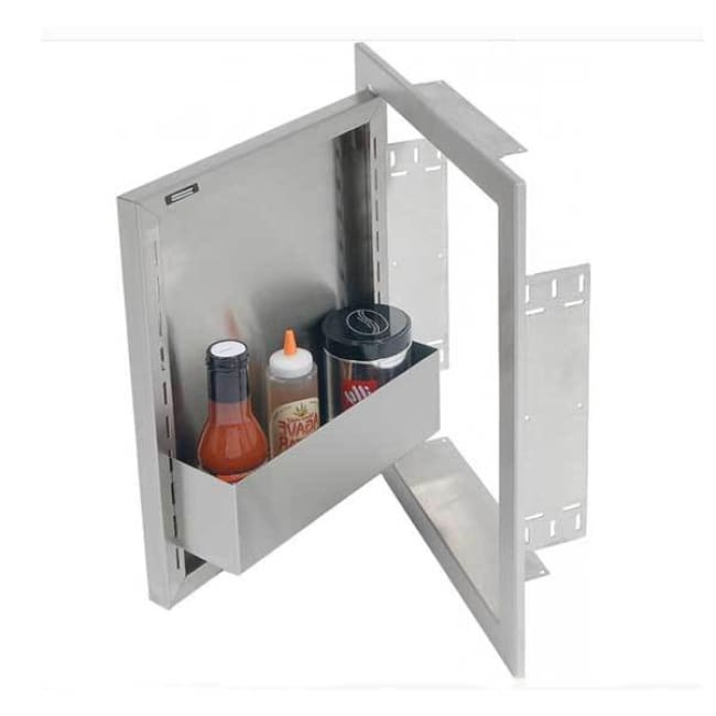 Alfresco 23 Left Hinged Vertical Single Access Door Axe-23L - Grill Accessory