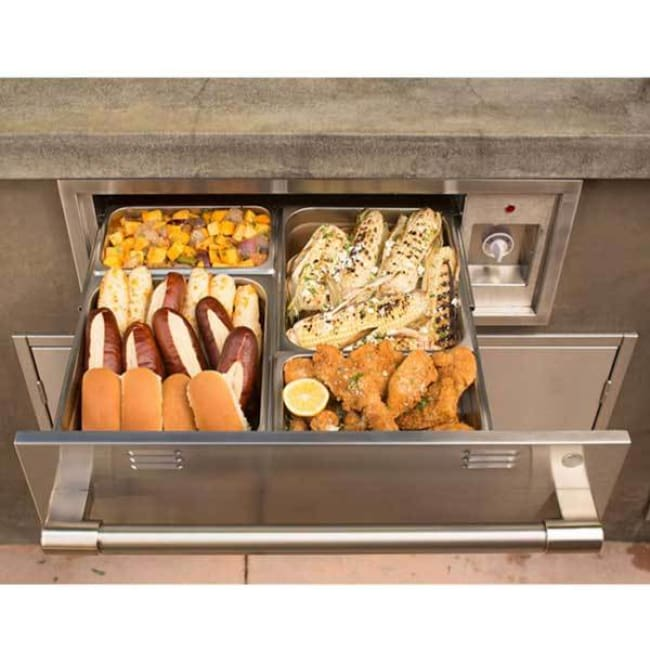 Alfresco 30 Warming Drawer Axewd-30 - Outdoor Grills