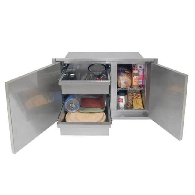 Alfresco 30 X 21 Low Profile Sealed Dry Storage Pantry Axedsp-30L - Grill Accessory