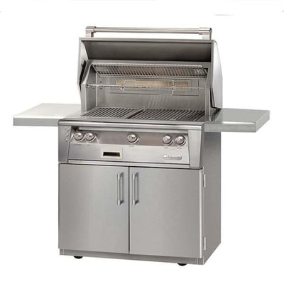 Alfresco 36 Searzone Grill On Cart Alxe-36Szc-Lp - Outdoor Grills